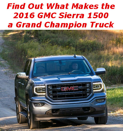 Link to blog about 2016 GMC Sierra 1500 Towing