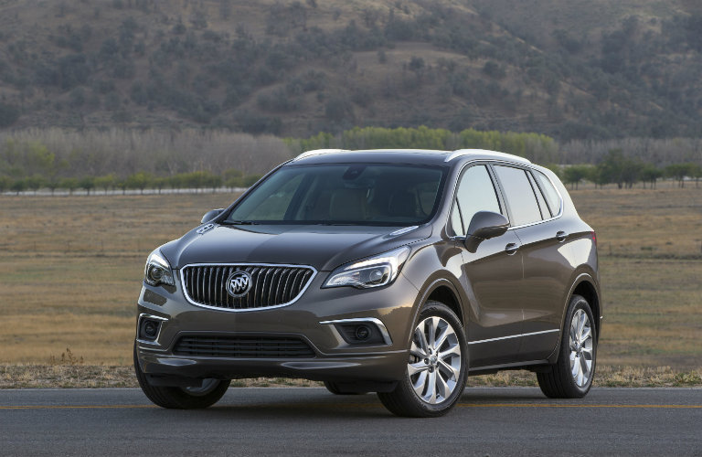 Front profile of the 2017 Buick Envision