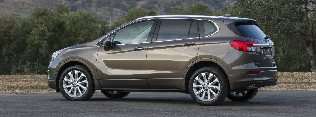 2017 Buick Envision Towing Capacity