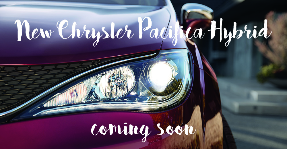 2017 Chrysler Pacifica Hybrid coming soon