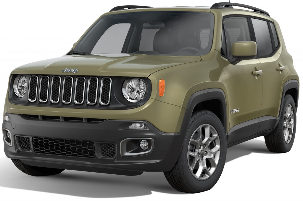 2016 Jeep Renegade Stock