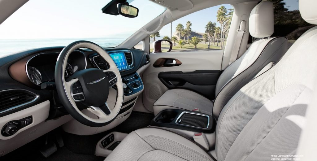 Hollywood Chrysler Pacifica Interior