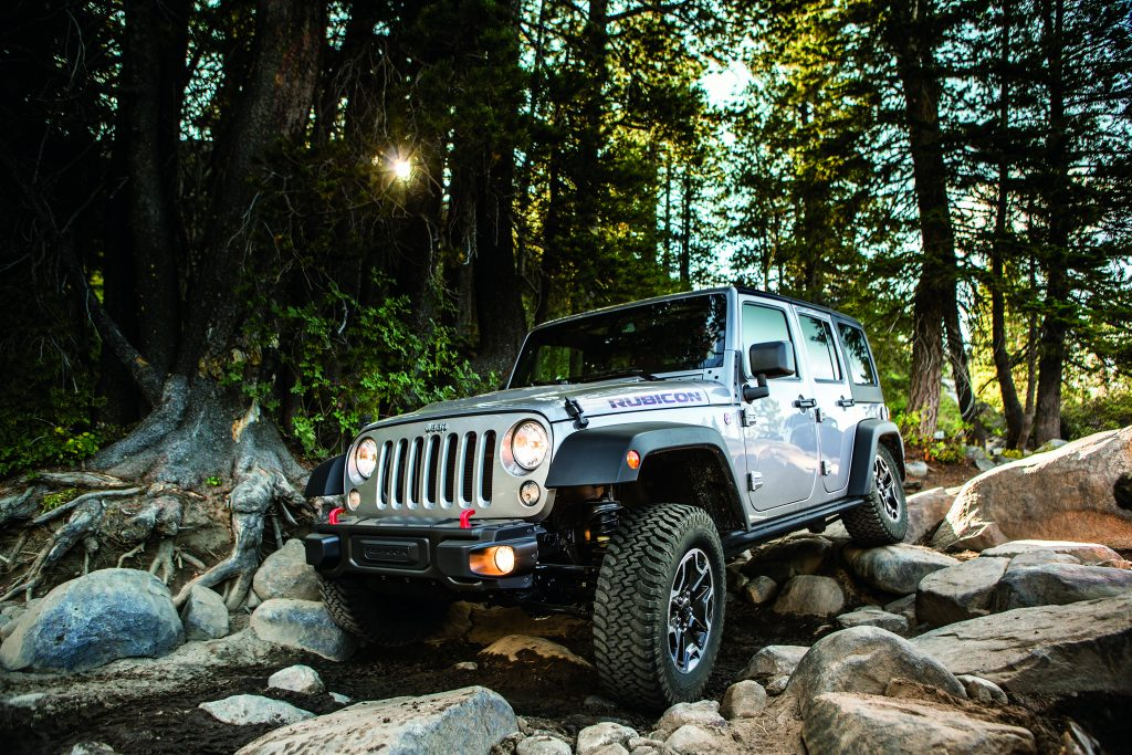 Hollywood Jeep Wrangler Outdoorsman Rocky Terrain