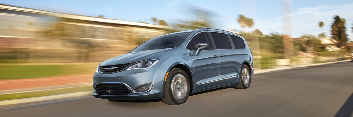 2017 Chrysler Pacifica Hybrid engine