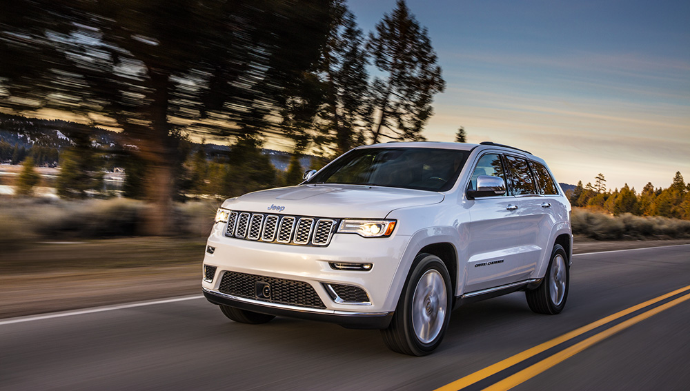 Jeep Grand Cherokee engine options