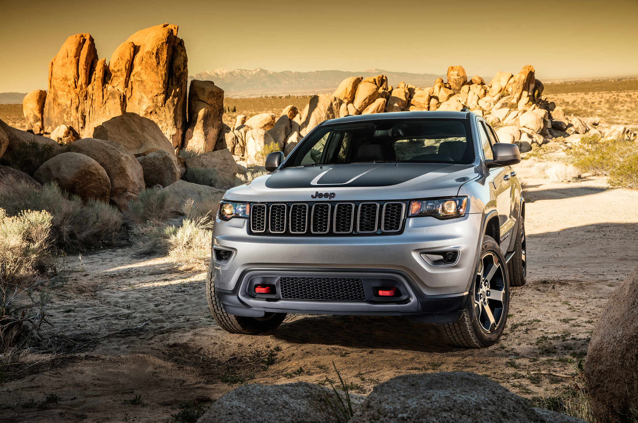 Jeep Grand Cherokee Trailhawk SUV of the year