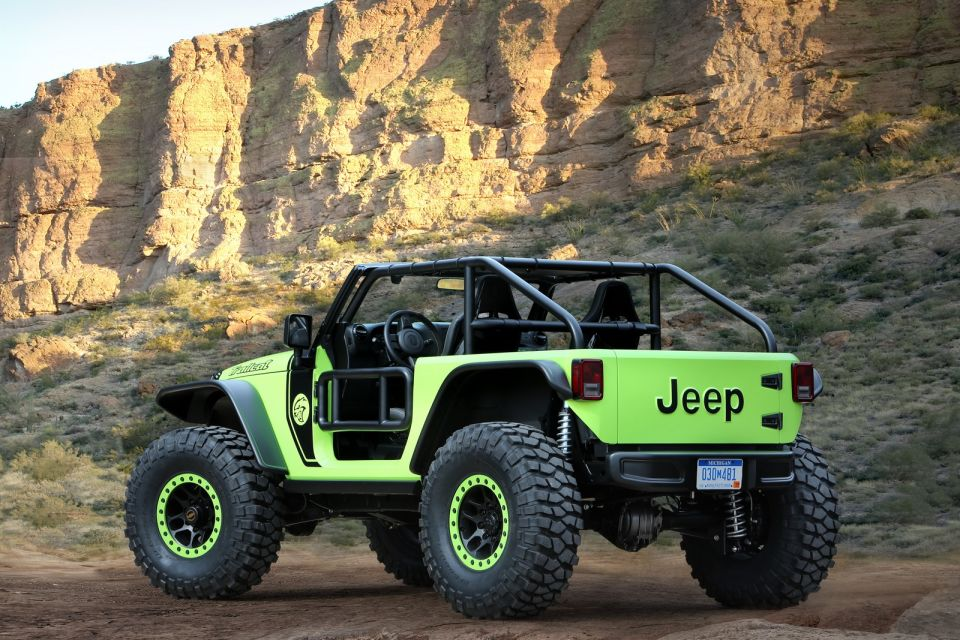 Jeep easter safari concepts past and present