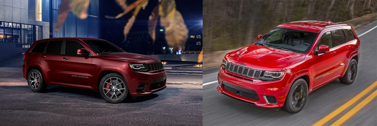 Jeep Grand Cherokee SRT and Trackhawk