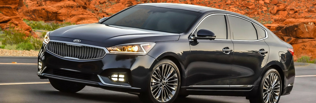 2017 Kia Cadenza Gets Top Safety Pick Plus Rating