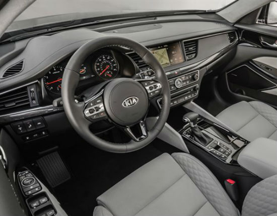 2017 kia cadenza interior seats dashboard