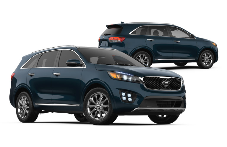 2016 Kia Sorento Blue Black