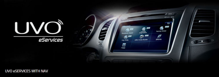 Kia UVO eServices with Navigation