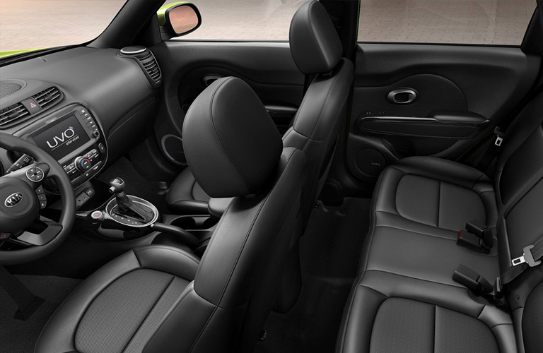 2016 kia soul interior black