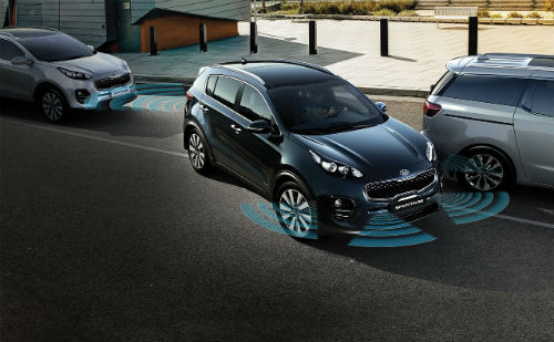 2017 kia sportage driver assistance features