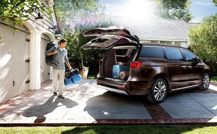 2016 kia sedona power lift gate_o