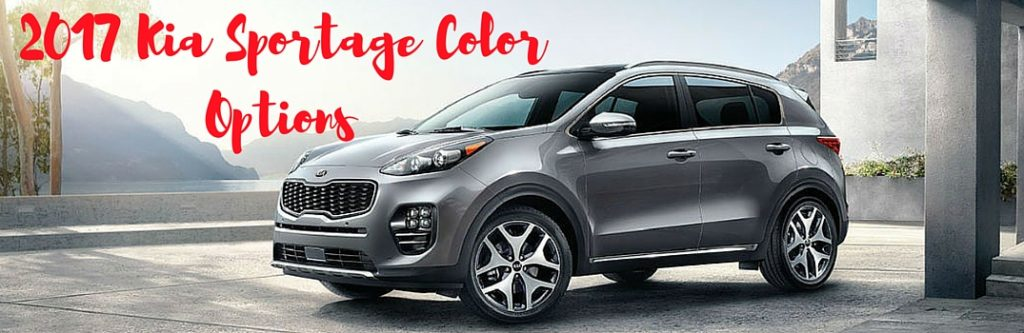 Moritz Kia Fort Worth >> 2017 Kia Sportage Color Options
