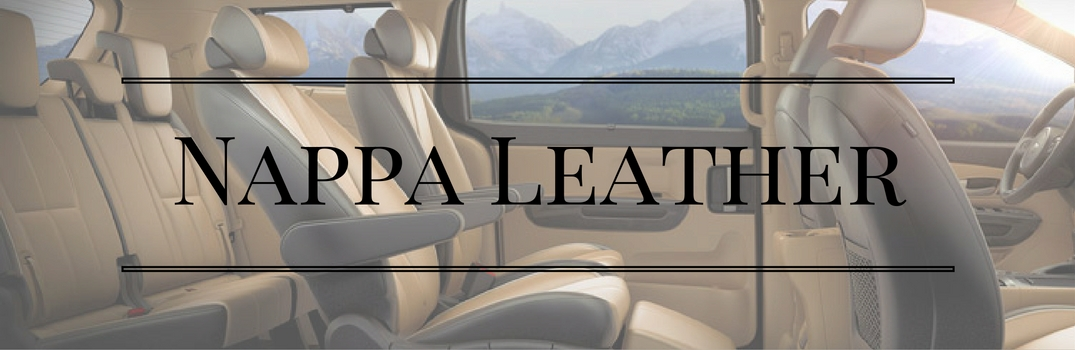 nappa leather seating kia