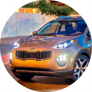 2017 Kia Sportage in Orange