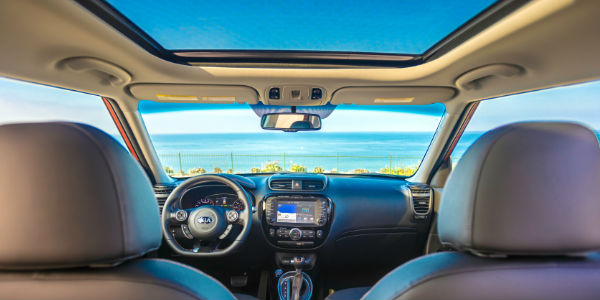 2018 Kia Soul Panoramic Sunroof