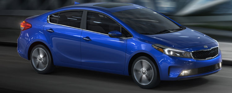 2018 Kia Forte in Deep Sea Blue