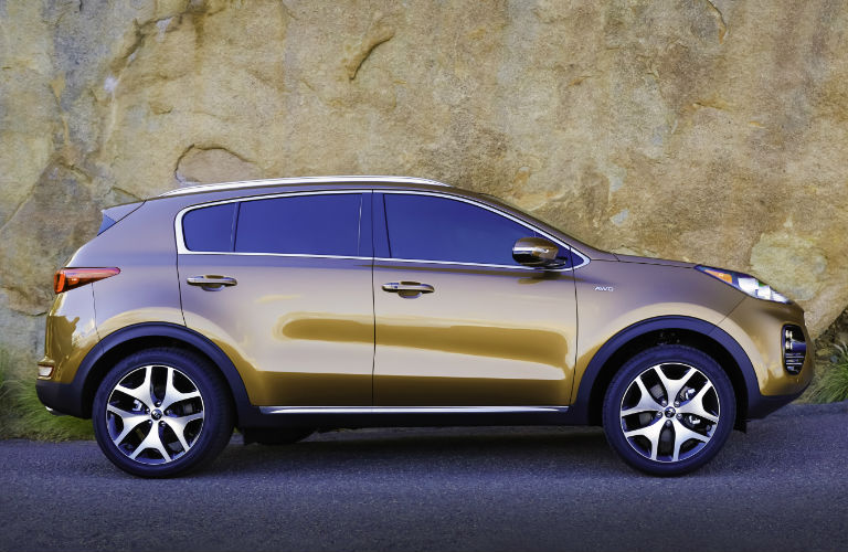 2018 Kia Sportage Side View