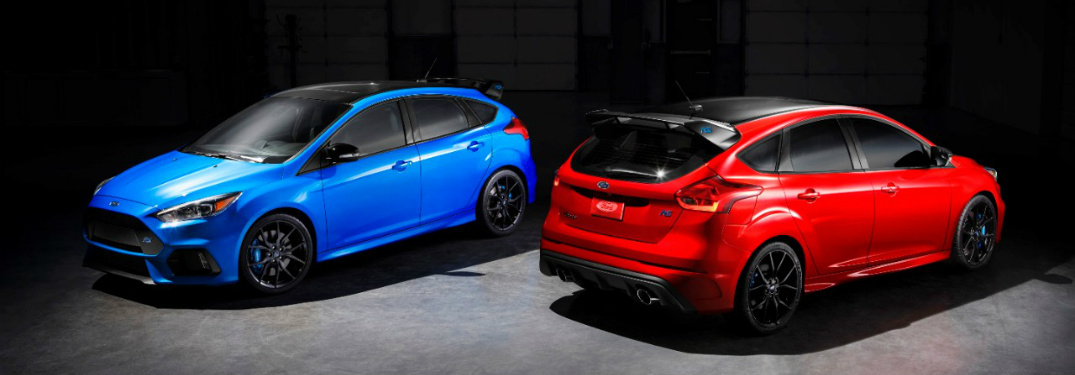 Features and Specs of the 2018 Limited Edition Ford Focus RS