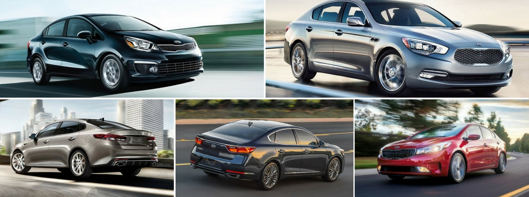 Size Classifications and Differences of 2017 Kia Sedans