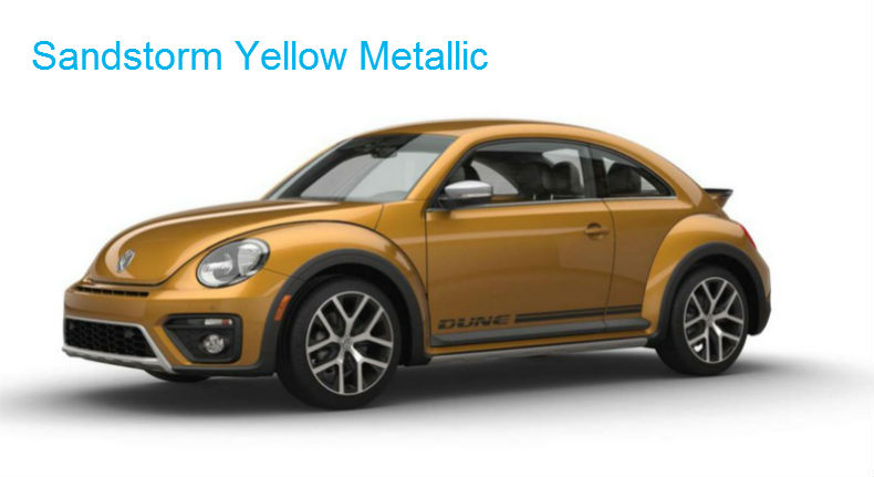 2017 Volkswagen Beetle Exterior Colors And Trim Options