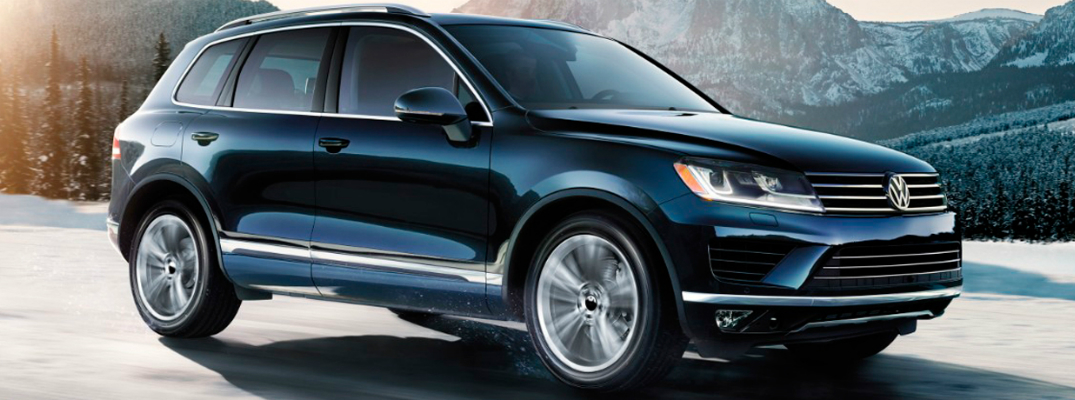 Features and Design of the 2017 Volkswagen Touareg Exterior
