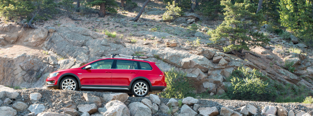 Technology Features and Design of the 2017 Golf Alltrack