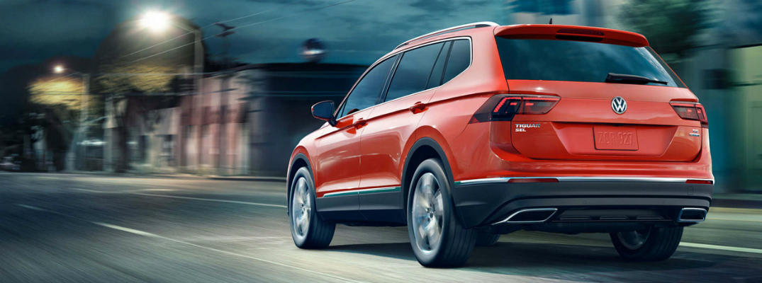 Technology and Design of the 2018 Volkswagen Tiguan Exterior