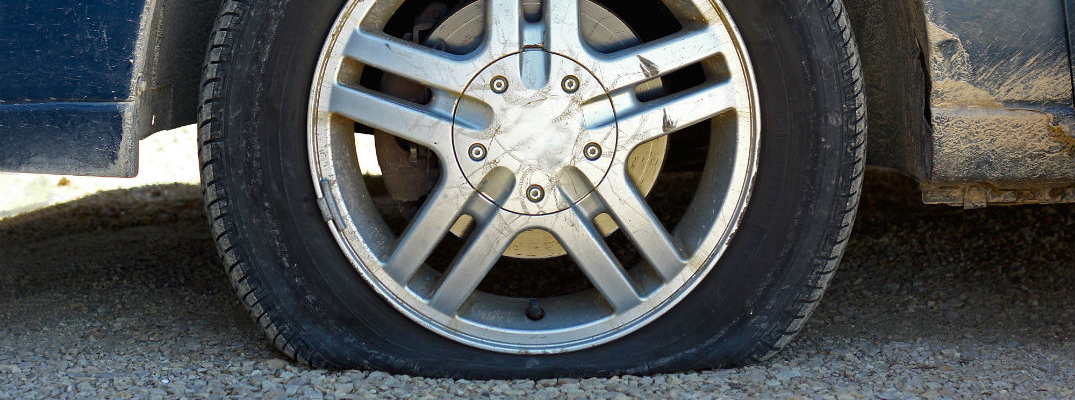 How to Change a Flat Tire Flat On Ground