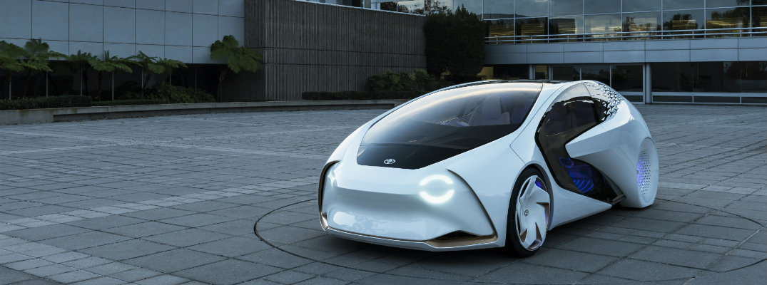 Toyota introduced Concept-i at 2017 CES