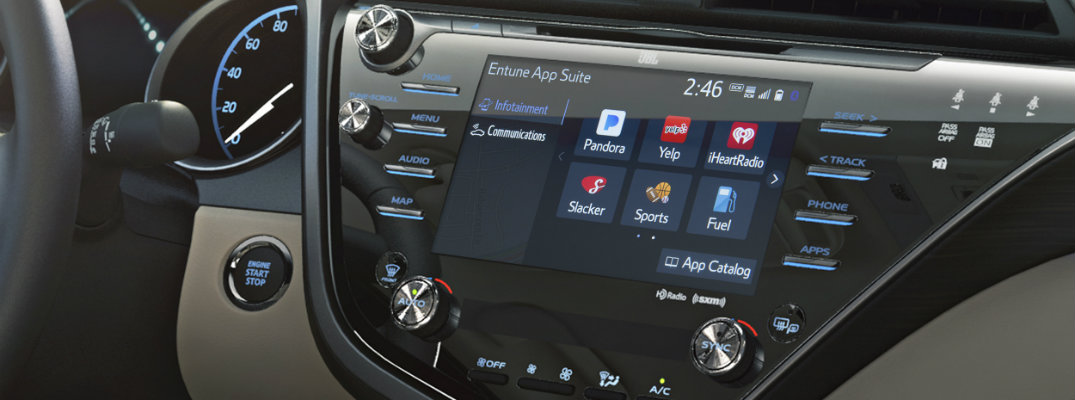 what's included with Toyota Entune 3.0