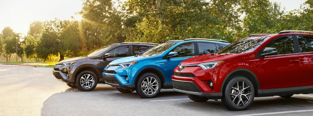 Hybrid Technology on the 2017 Toyota RAV4 Hybrid Trim Levels