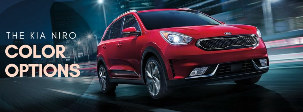 2017 Kia Niro Exterior Color Options