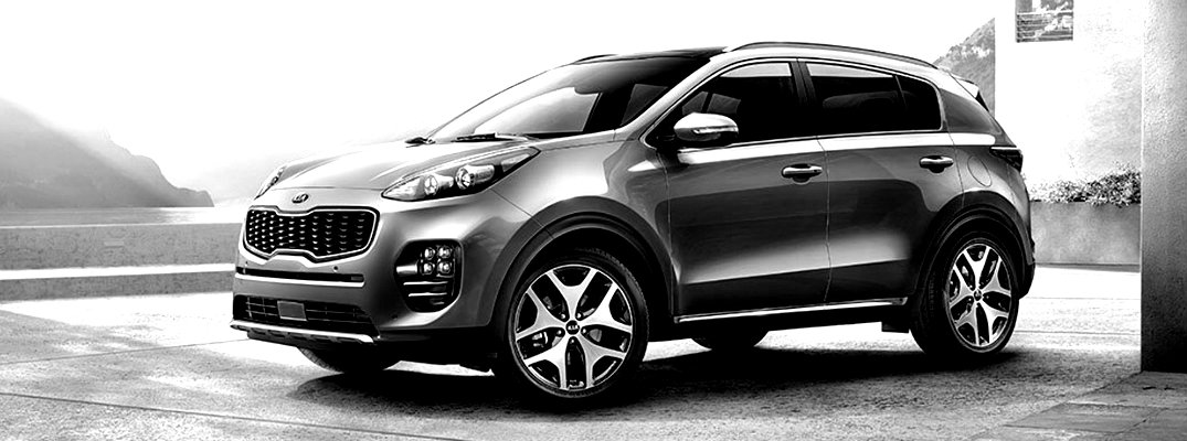 2018 Kia Sportage Color Options