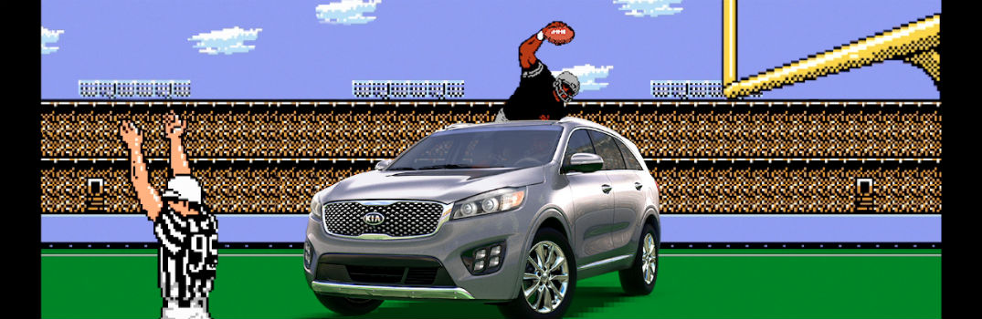Who is in the new Kia Sorento commercial?
