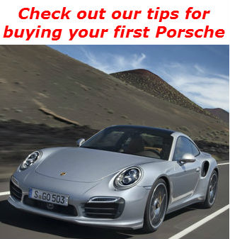 check out our tips for buying your first porsche