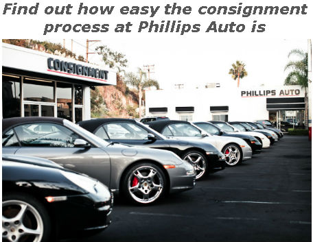 find out how easy the consignment process at phillips auto is