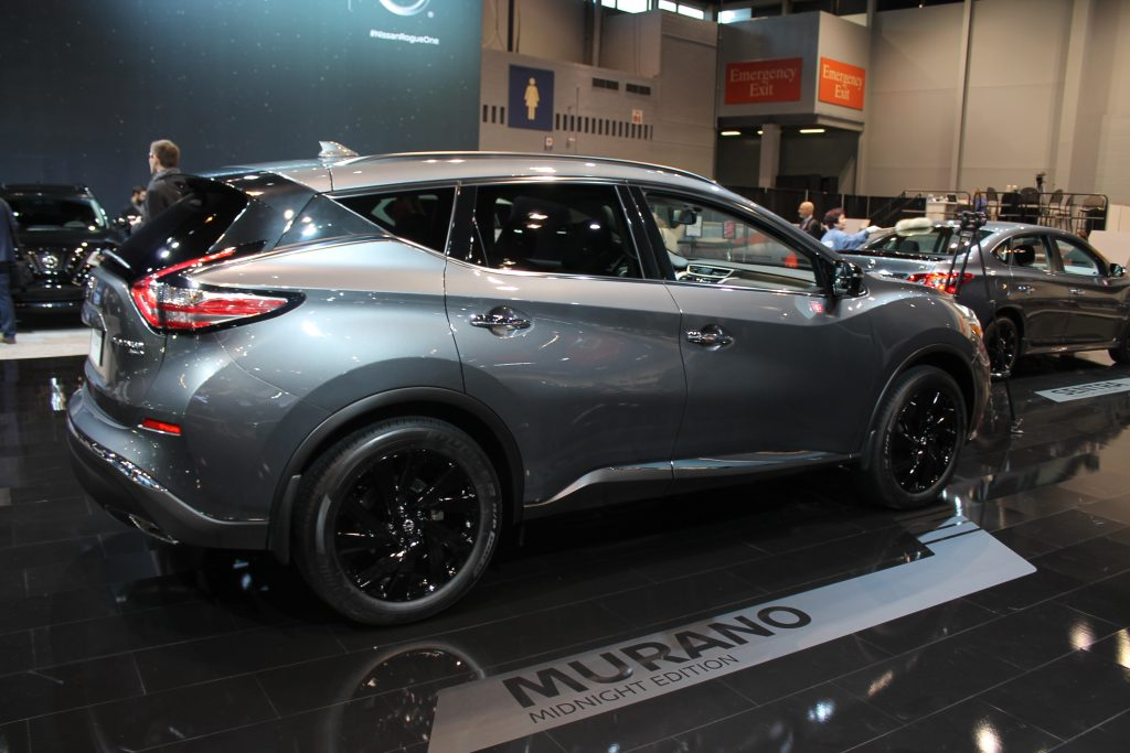2017 nissan midnight edition lineup chicago auto show