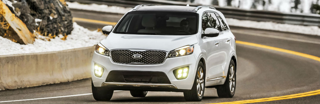 New features on the 2017 Sorento