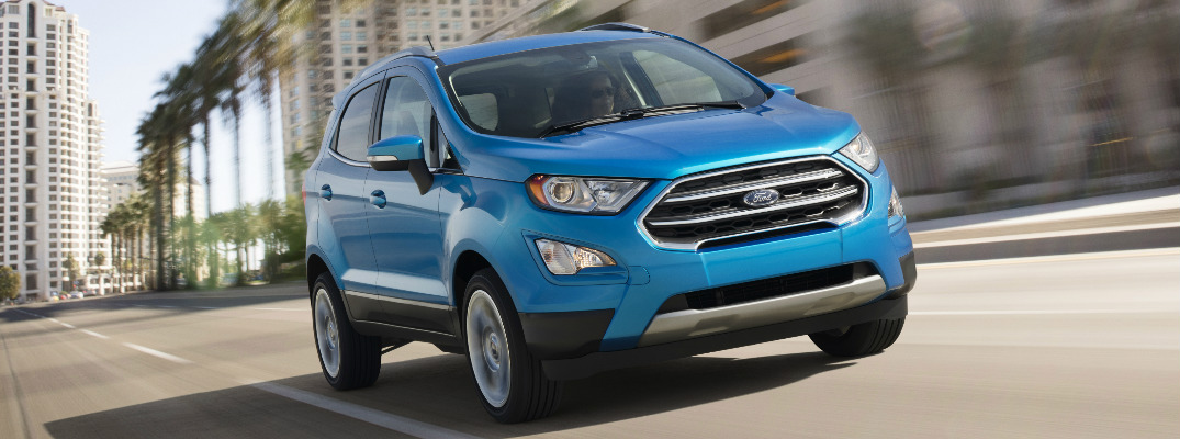 The Ford SUV lineup is expanding with the all-new EcoSport