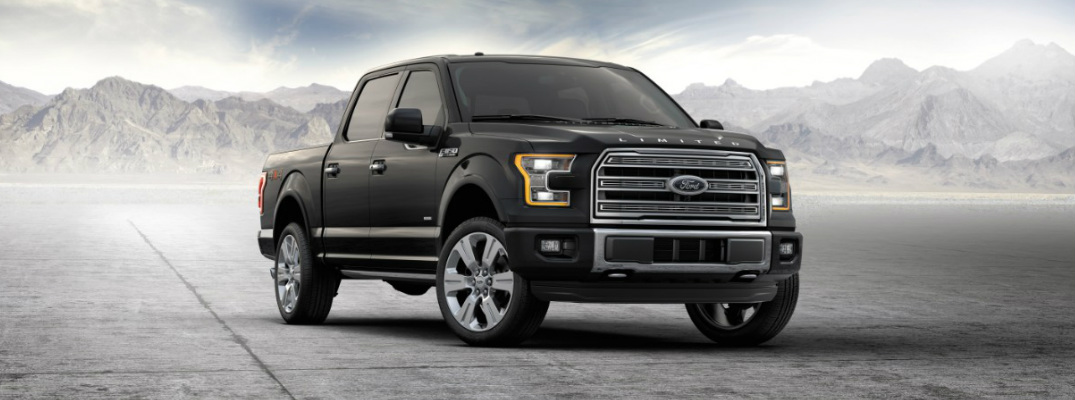2016 Ford F-150 in wide open space