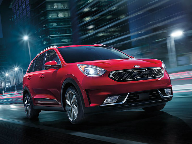 2017 kia niro hybrid crossover pricing and trims. Black Bedroom Furniture Sets. Home Design Ideas