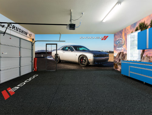 Fathead Vinyl Wall Graphics Featuring Dodge Vehicles