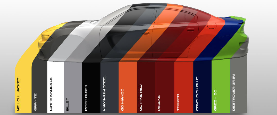 check out the 2017 dodge charger color options