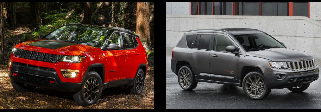 what 39 s changed on the all new 2017 jeep compass. Black Bedroom Furniture Sets. Home Design Ideas
