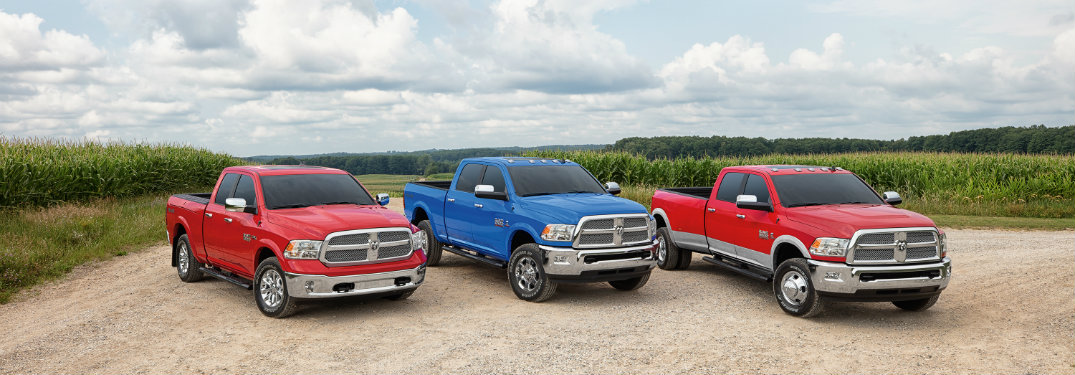 Compare The 2016 Ram 1500 Vs The 2017 Ram 1500