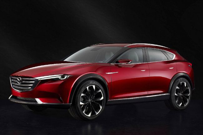 Mazda Koeru Crossover Concept Dimensions and measurements